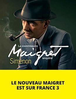 Couverture : Le Commissaire Maigret enquête